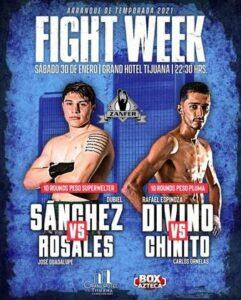 Rafael Espinoza Defeats Carlos Orenelas & Boxing Results From Mexico | Boxen247.com