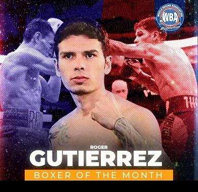 Roger Gutiérrez is WBA Boxer of the Month | Boxen247.com