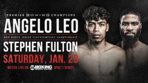 WBO Jr. Featherweight Champion Angelo Leo Battles Stephen Fulton Jr. | Boxen247.com