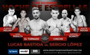 Lucas Bastida vs. Germán Peralta Fight Card Weights From Buenos Aires | Boxen247.com