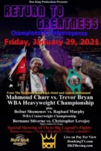 The Charr vs. Bryan WBA Heavyweight January 29th Bout Issues Continue | Boxen247.com