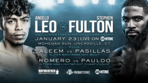 StepFulton Jr. Defeats Angelo Leo & Boxing Results From Uncasville | Boxen247.com