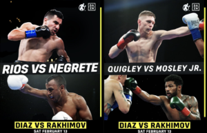 Golden Boy Promotions Stacked Boxing Event Feb 13th on DAZN | Boxen247.com