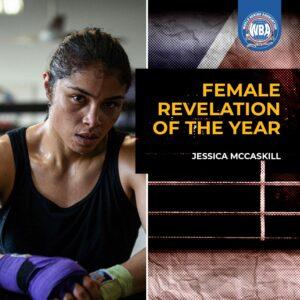 WBA Grants the Female Revelation of the Year Award to Jessica McCaskill   Boxen247.com