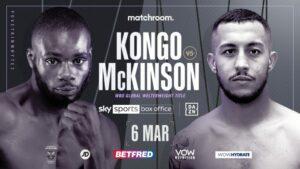 Michael McKinson Takes on Chris Kongo on March 6th Whyte Undercard | Boxen247.com