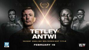 Darren Tetley Faces Samuel Antwi For English Welterweight Title | Boxen247.com