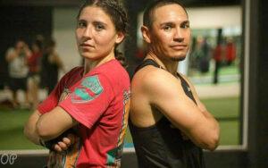 Champs Yamileth Mercado & Juan Francisco Estrada Train Together   Boxen247.com
