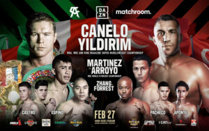 Feb 27th Canelo vs. Avni Yildirim Quality Undercard | Boxen247.com