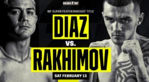 Diaz vs. Rakhimov Fight Card Weights From California   Boxen247.com
