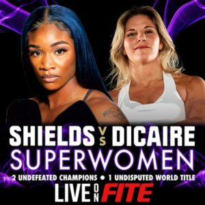 Claressa Shields vs. Marie-Eve Dicaire to be Screened by FITE TV | Boxen247.com