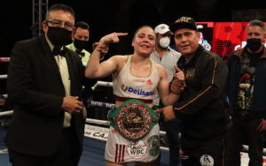 "Yamileth ""Yeimi"" Mercado Prevails in First WBC Defense (Full Report) | Boxen247.com"