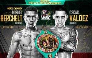 "Miguel ""Alacrán"" Berchelt & Oscar Valdez Pass 14-day Weigh-In | Boxen247.com"