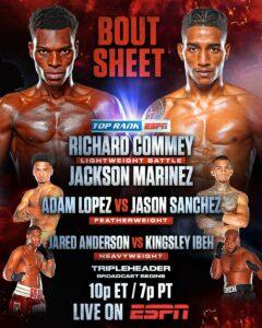 Richard Commey Defeats Jackson Marinez & Results From Las Vegas | Boxen247.com