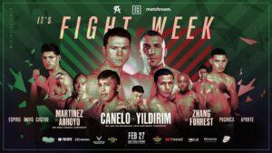 Canelo vs. Yildirim Headline Fabulous Boxing Card in Miami on DAZN   Boxen247.com