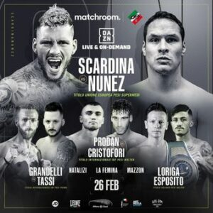 Daniele Scardina Defeats Cesar Nunez & Full Boxing Results From Italy   Boxen247.com