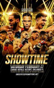 Carlos Vidal vs. Danny Flores Full Fight Card Weights From Florida   Boxen247.com