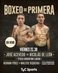 Juan Nicolas De Leon Defeats Jose Hugo Acevedo & Argentina Results | Boxen247.com
