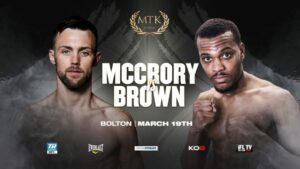 Big Fights Added to March 19th MTK Fight Night   Boxen247.com
