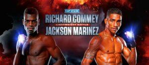 Richard Commey vs. Jackson Marinez - Las Vegas Fight Card Weights | Boxen247.com