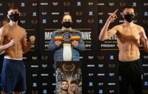 Sean McComb vs.Gavin Gwynne Fight Card Weights From UK   Boxen247.com