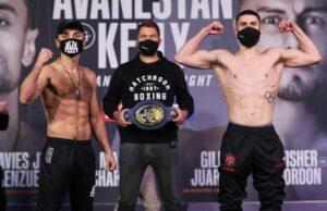 David Avanesyan vs. Josh Kelly Fight Card Weights From England | Boxen247.com
