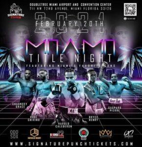 Harold Calderon vs. Jonathan Eniz Fight Card Weights From Miami   Boxen247.com
