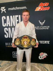 Canelo's Main Goal For 2021 is to Win all The Super Middleweight Titles | Boxen247.com