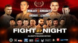 Kamshybek Kunkabayev Will Now Face Server Emurlaiev on Saturday | Boxen247.com