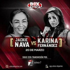 Karina Fernández vs. Jackie Nava on March 20th   Boxen247.com