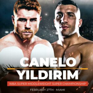 Fight Week: Canelo & Avni Yildirim Ready to Go to War on Saturday | Boxen247.com