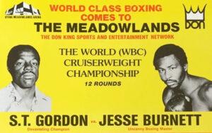 On This Day: S.T Gordon Defended Title Against Jesse Burnett 1983 | Boxen247.com