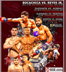 Janelson Bocachica vs. Mark Reyes Jr. Fight Weights From Uncasville   Boxen247.com