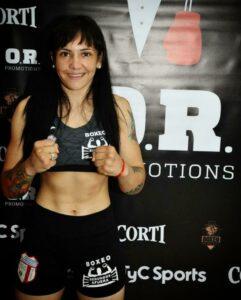 La Panterita Moneo Won the WBA Regional Lightweight Belt   Boxen247.com
