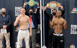 Serhii Bohachuk vs. Brandon Adams Fight Weights From Puerto Rico | Boxen247.com