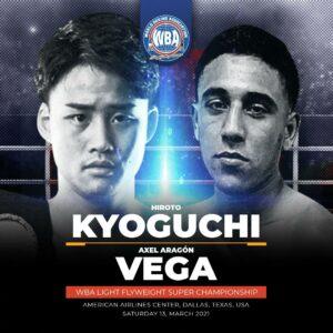 Hiroto Kyoguchi & Axel Aragon Vega Showed Their Weapons in Dallas | Boxen247.com