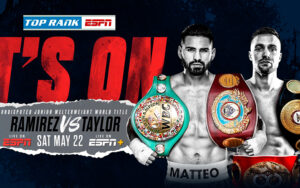 Ramirez & Taylor For Undisputed Super Lightweight Crown May 22nd   Boxen247.com