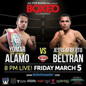 Yomar Alamo Defeats Jesus Alberto Beltran in Kissimmee, Florida   Boxen247.com