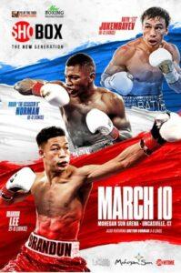 Brandun LeeDefeats Samuel Teah & Fight Card Results From Uncasville   Boxen247.com