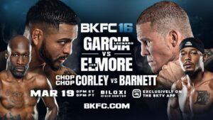 Demarcus Corley135 vs. Reggie Barnett Jr. BKFC 16 Weights From Biloxi | Boxen247.com