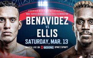 Benavidez & Ellis in Eliminatory WBC Bout Next Saturday March 13th | Boxen247.com
