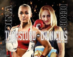 Dina Thorslund vs. Debora Anahi Dionicius For WBO Title on June 25th | Boxen247.com