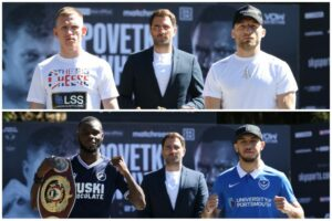 Fighters Square Off at Rumble on the Rock Final Press Conference | Boxen247.com