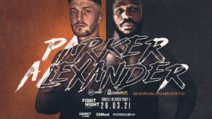 Zach Parker vs. Vaughn Alexander Fight Card Weights From England | Boxen247.com