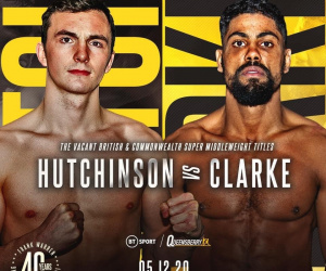 Lennox Clarke Defeats Willy Hutchinson & Boxing Results From England | Boxen247.com
