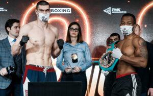 Thabiso Mchunu & Evgeny Tishchenko Fight Weights From Russia   Boxen247.com