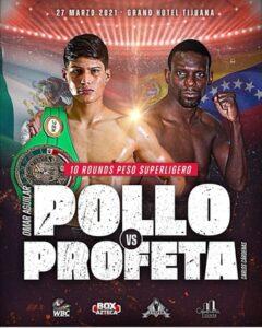 Omar 'Pollo' Aguilar vs. Carlos Cárdenas Fight Card Weights From Mexico | Boxen247.com