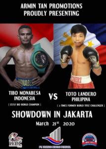 Tibo Monabesa & Toto Landero to Dispute WBC International Title   Boxen247.com