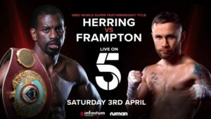 Channel 5 to Broadcast Jamel Herring vs. Carl Frampton on Saturday | Boxen247.com