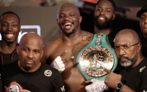 """Dillian Whyte: """"No One Can Resist My Punch & Stand Up"""" 