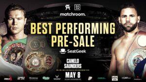 Canelo vs. Saunders on Sale Now After Smashing Pre Sale Record | Boxen247.com